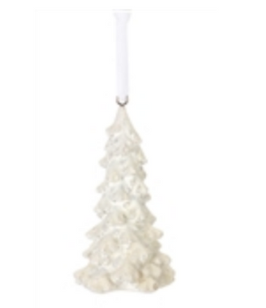 White Tree Ornament