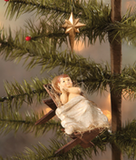 Baby Jesus in the Manger Ornament