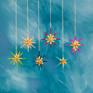 Large Sparkle Star Ornament