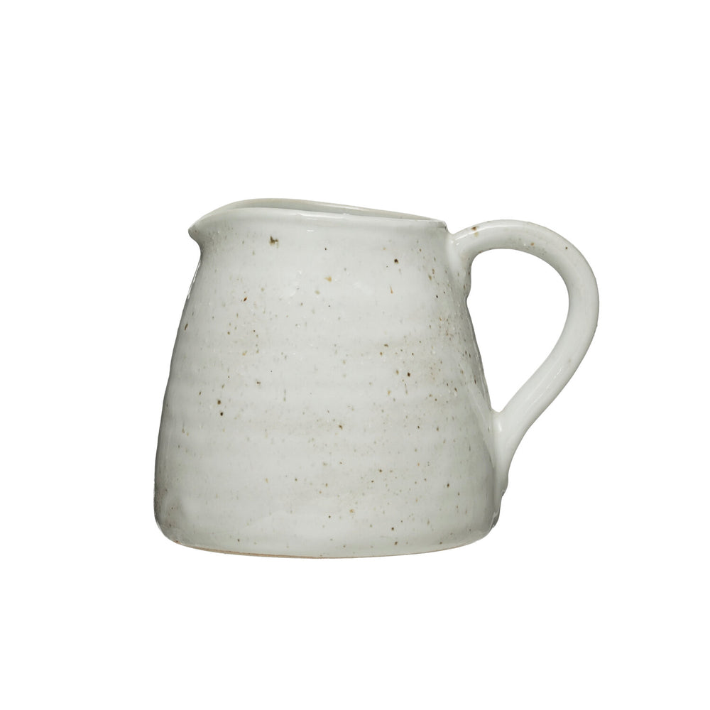 Cream Stoneware Pitcher - 32oz