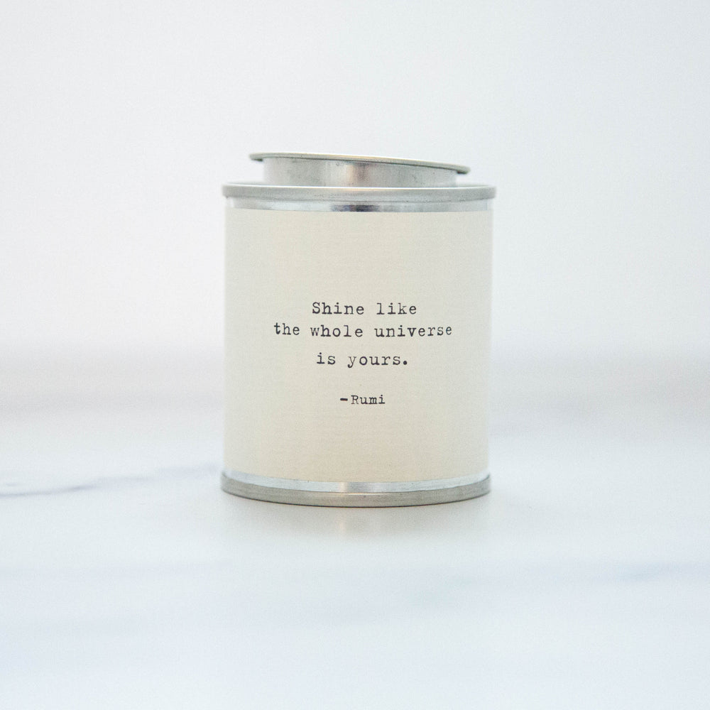 Shine Like the Whole Universe Soy Wax Candle