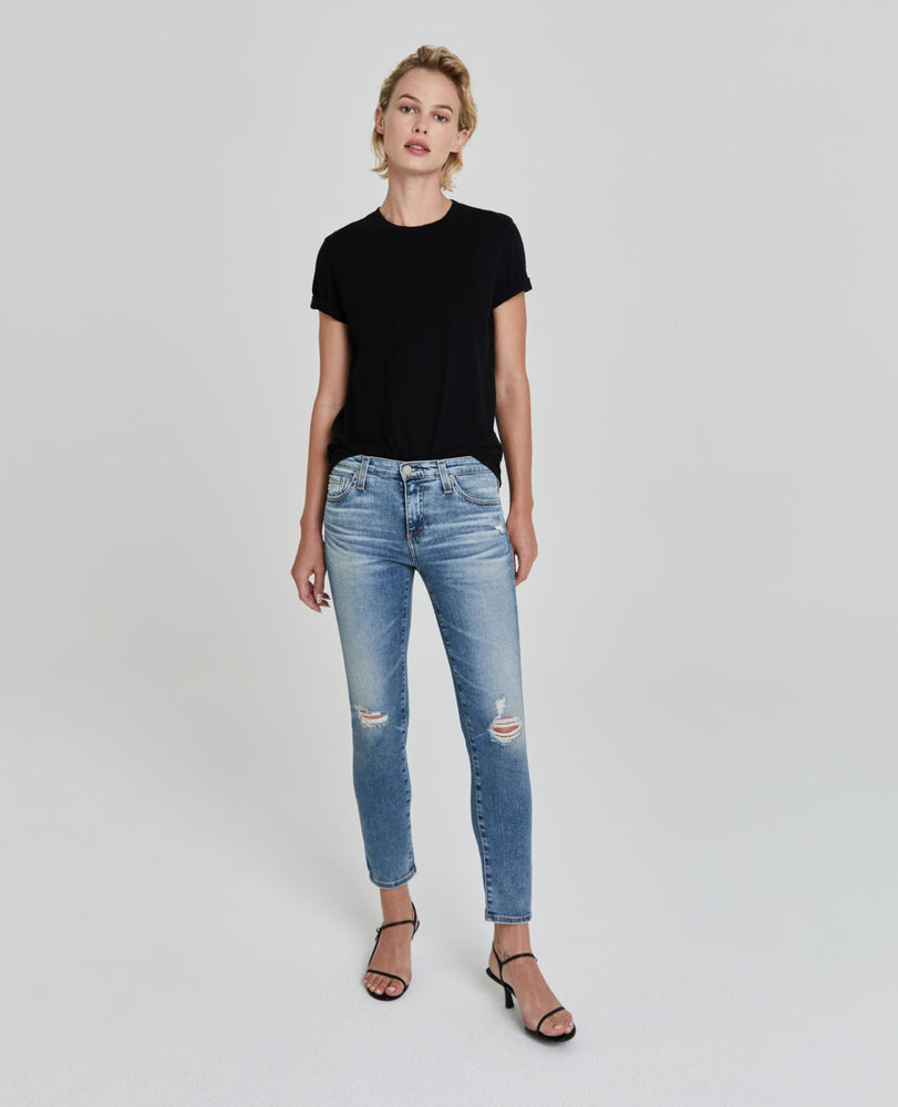 Load image into Gallery viewer, The Prima Crop Jean