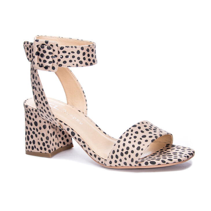 Cheetah Block Heels