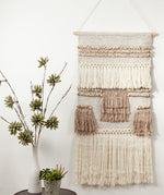 Textured Woven Wall Hanging Multi