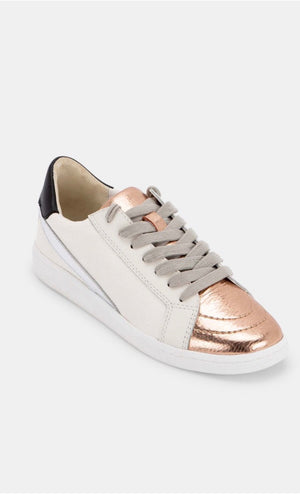 Load image into Gallery viewer, Metallic Leather Sneakers