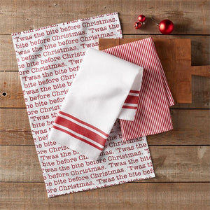Bite Before Christmas Hand Towel Set