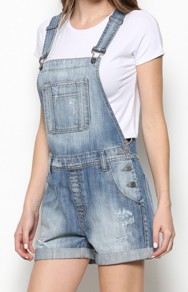Load image into Gallery viewer, Amelia Boyfriend Overalls