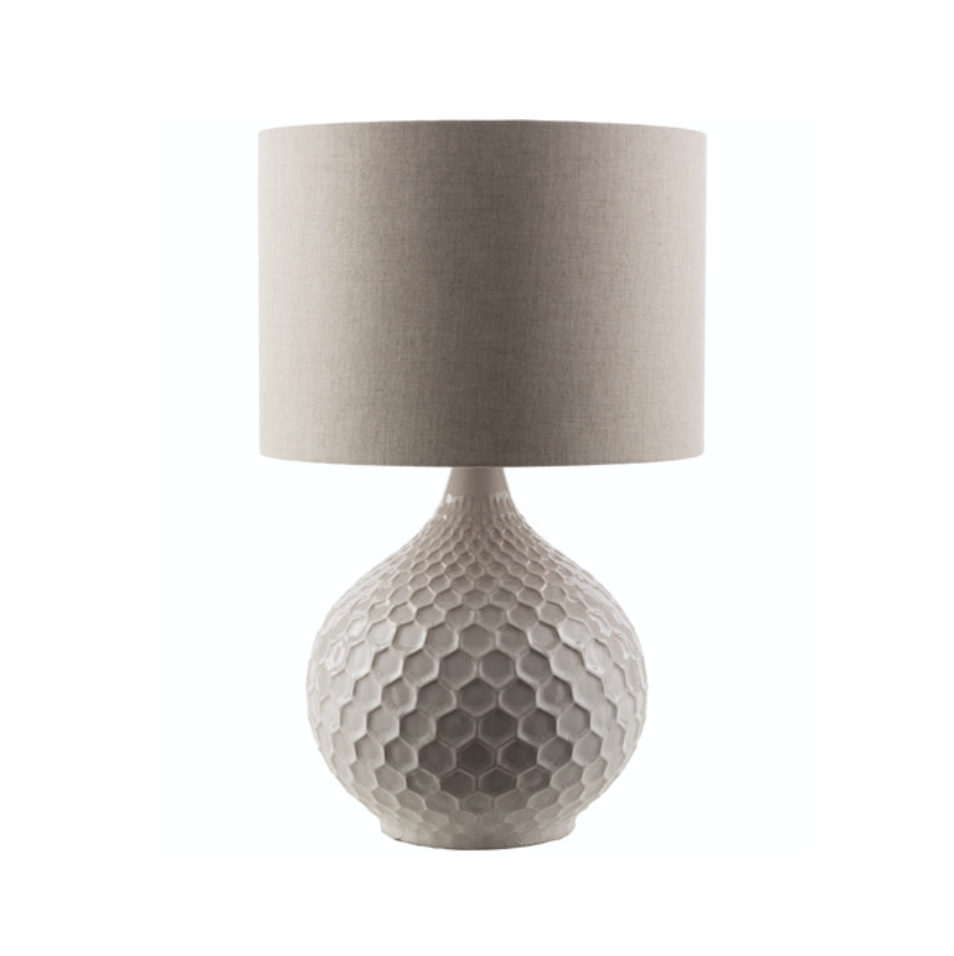 Penny Ivory Ceramic Lamp