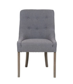 Hanson Grey Tufted Dining Chair