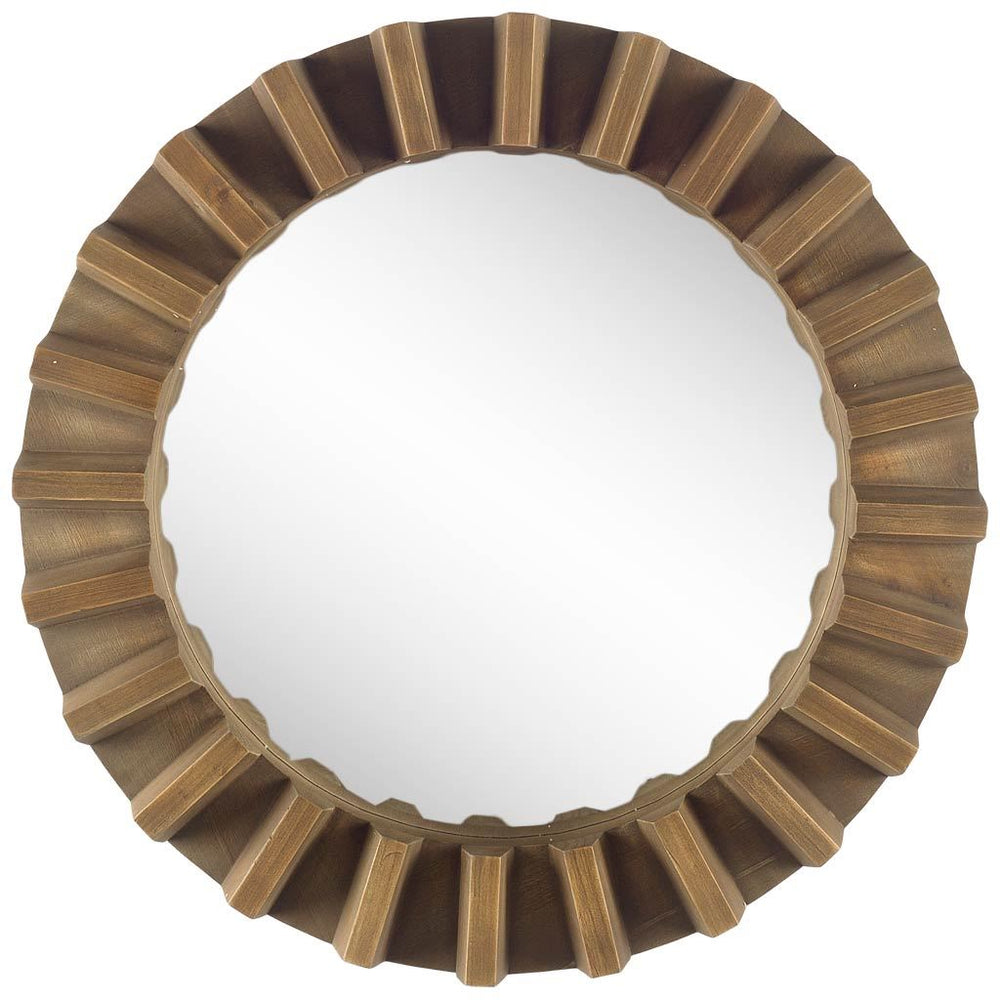 Round Sprocket Mirror
