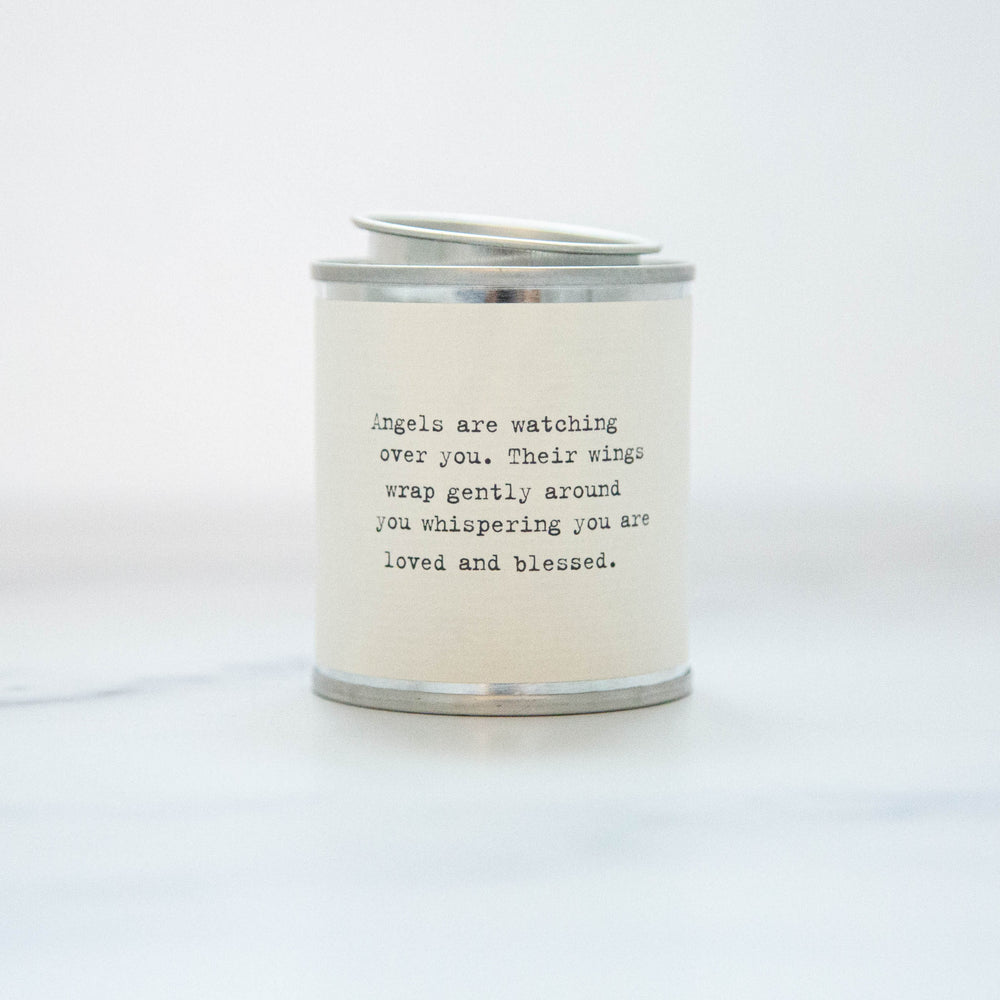 Angels Are Watching Over You Soy Wax Candle
