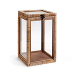 Rattan Wrapped Frame Box Display
