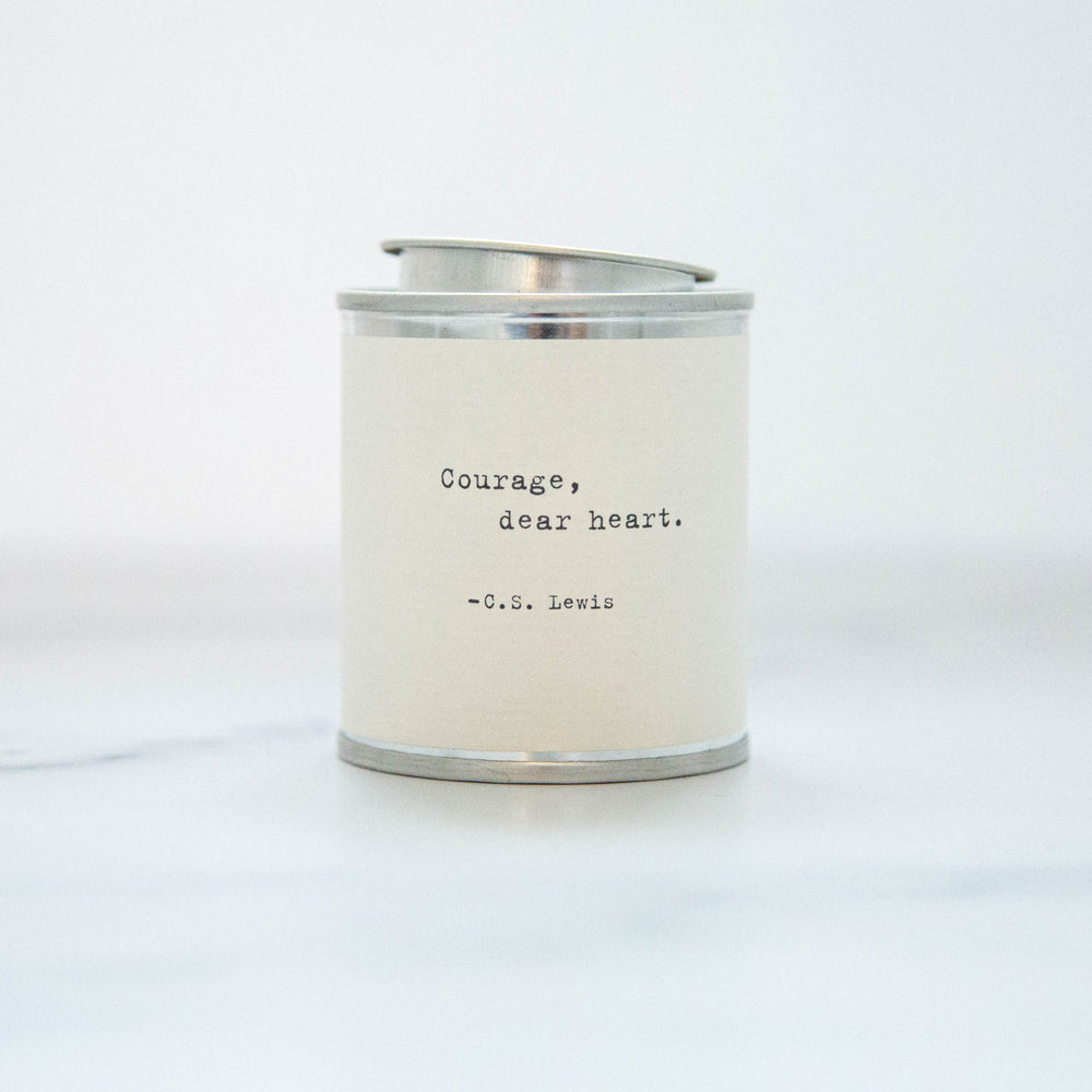 Courage, Dear Heart Soy Wax Candle