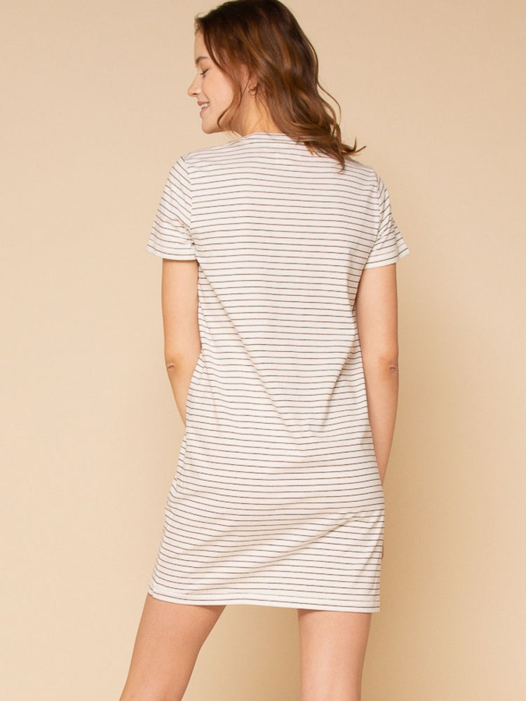 Kick Back Long Tee Cotton Dress