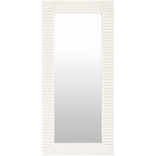 White Wood Frame Mirror