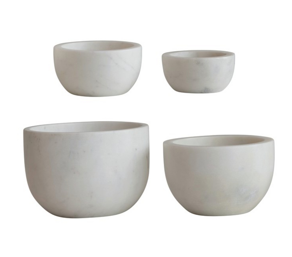 Load image into Gallery viewer, White Cup Marble Bowl