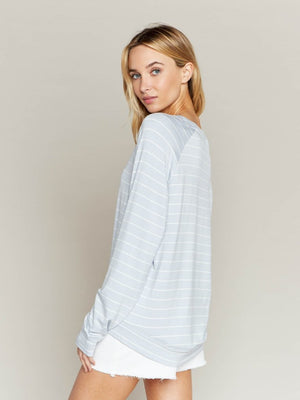 Jasper Top Soft Stripe
