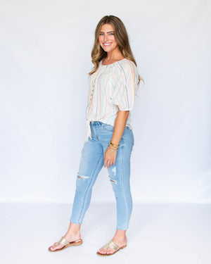 Load image into Gallery viewer, Gisele High Waist Skinny Jeans