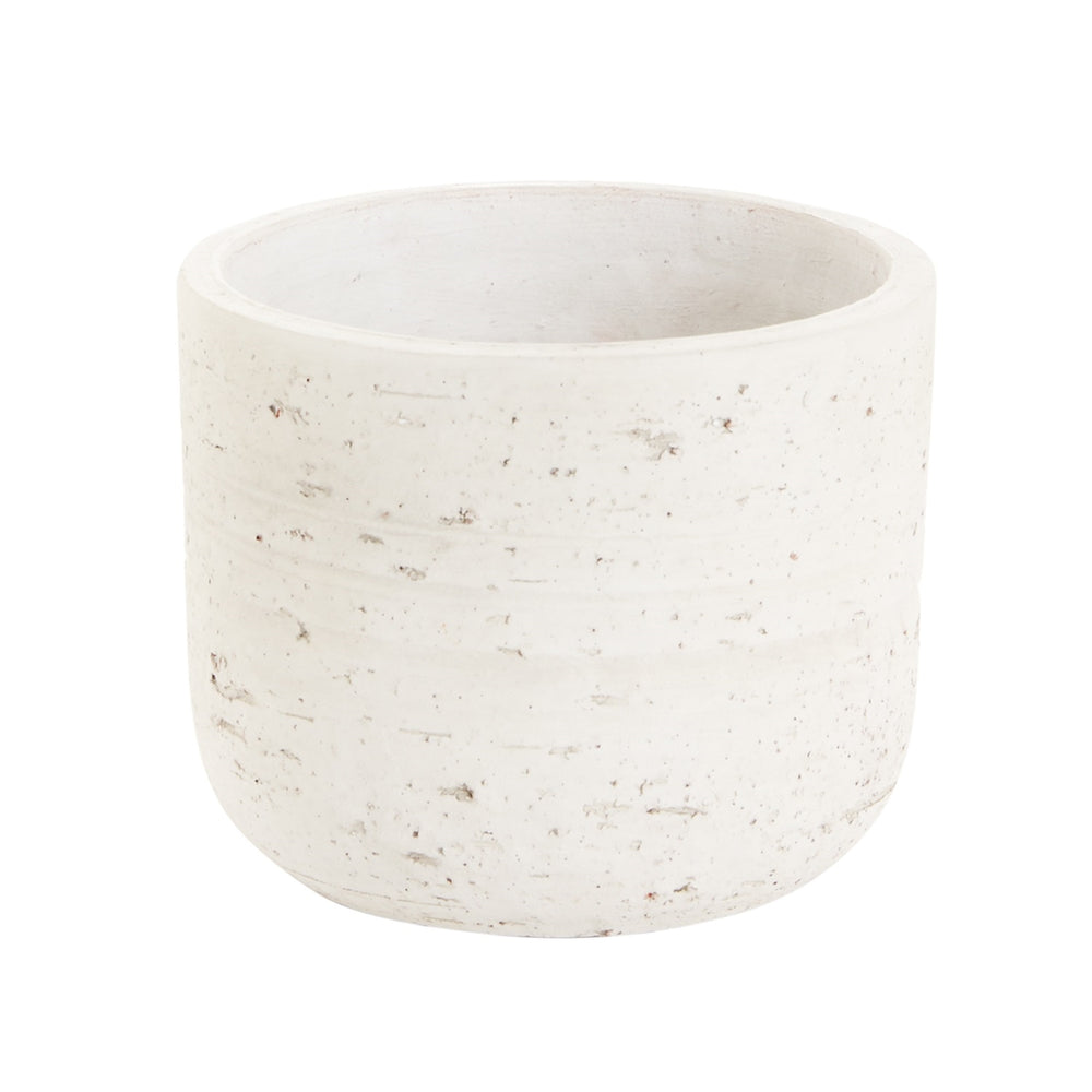 Load image into Gallery viewer, Heron White Speckled Pot
