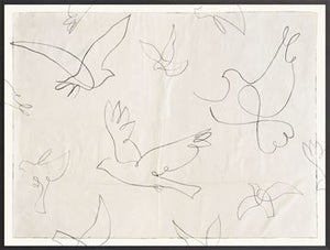 Load image into Gallery viewer, Birds in Flight Wall Art