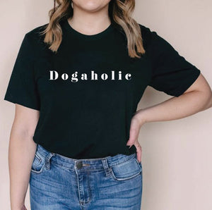 Load image into Gallery viewer, Dogaholic Tee