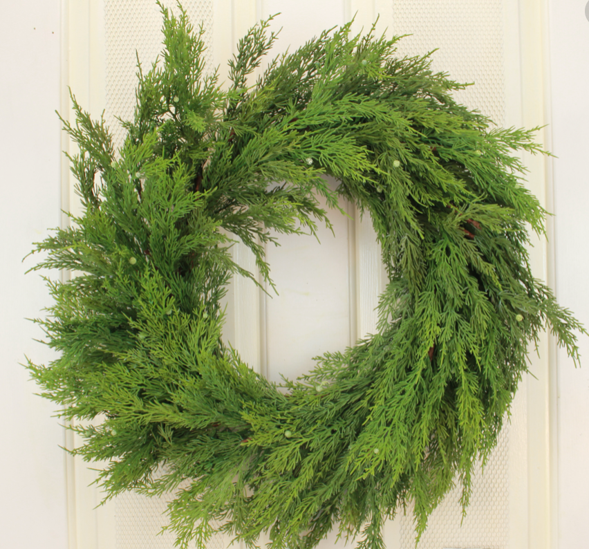 Load image into Gallery viewer, Cedar Wreath