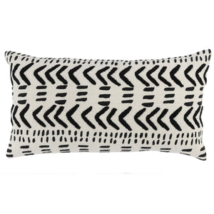Load image into Gallery viewer, Black & Ivory Lumbar 14x26