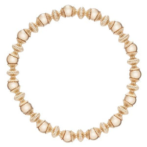 Load image into Gallery viewer, Loyalty Gold 6mm Bead Bracelet