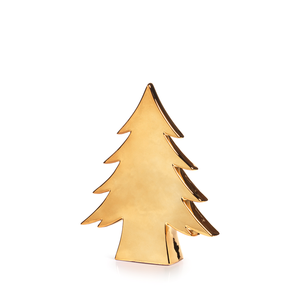 Gold Ceramic Tree - 10.75""