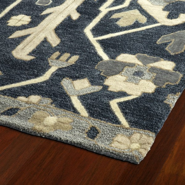 Load image into Gallery viewer, Gatsby Denim Floral Rug