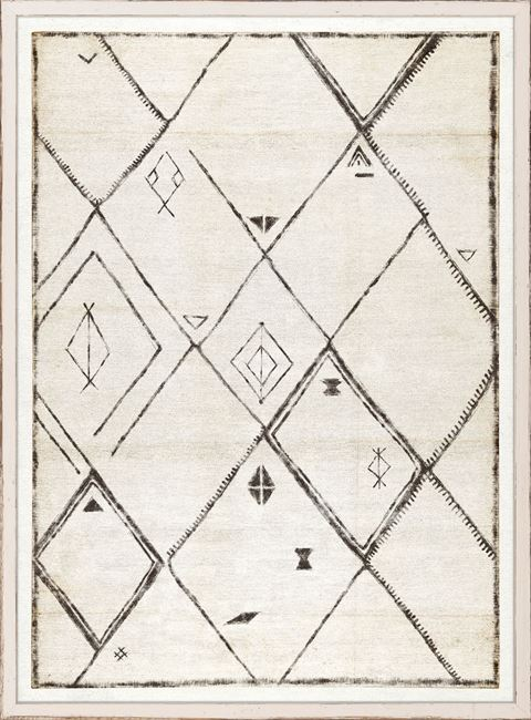Load image into Gallery viewer, Tribal Carpet Design III Wall Art