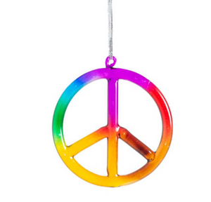 Load image into Gallery viewer, Rainbow Peace Sign