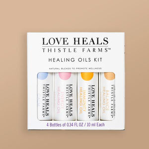 Healing Oils Box 4 pack
