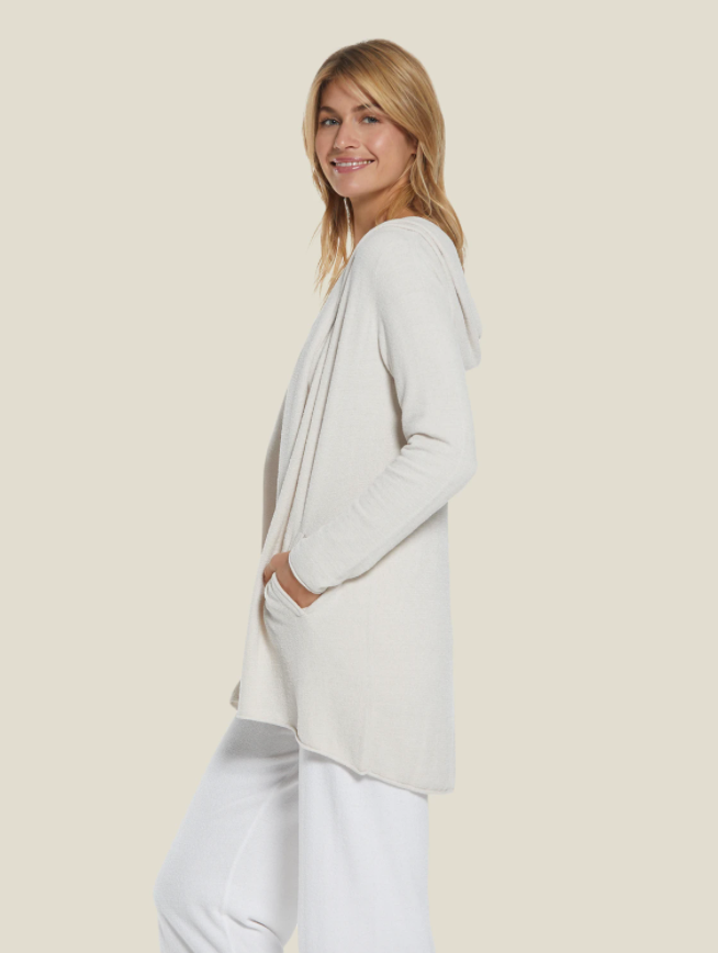 Cozy Chic Ultra Lite Hooded Cardi