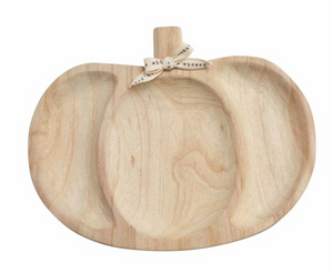 Load image into Gallery viewer, Paulownia Wood Pumpkin Server