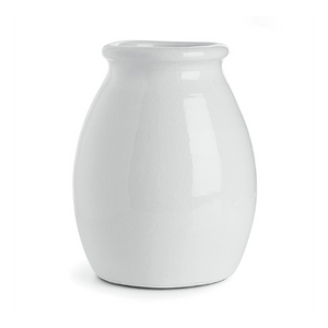 Load image into Gallery viewer, Vase, White Glaze 8.75