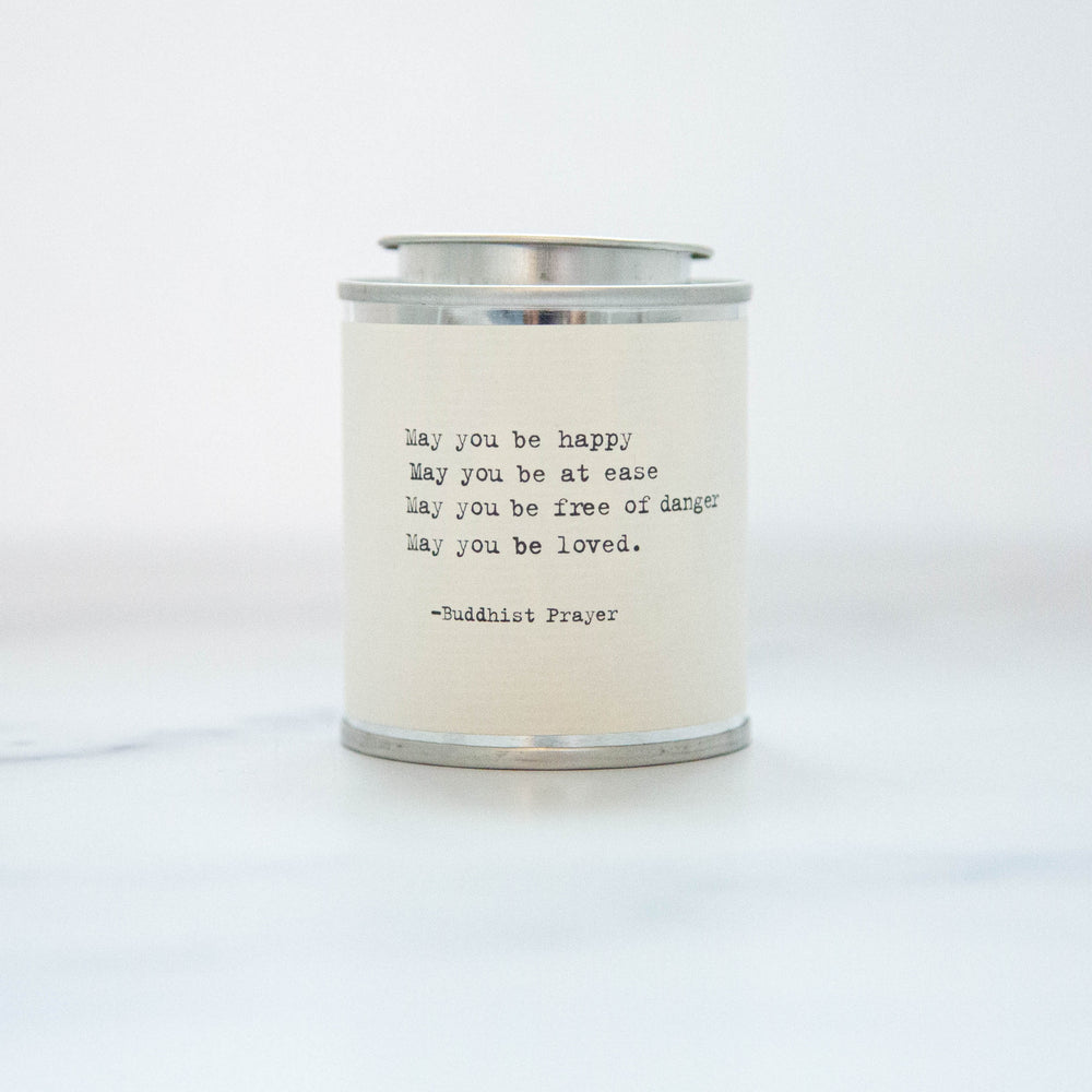 May You Be Happy, At Ease Soy Wax Candle