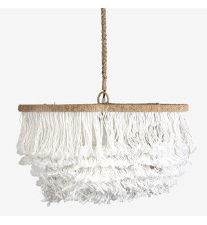 Liliana Tiered Fringe Chandelier