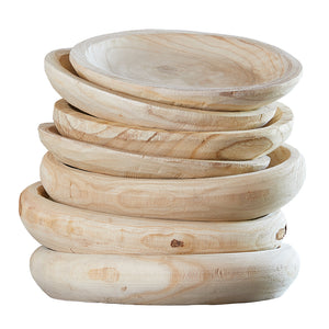 Paulownia Wood Display Bowl