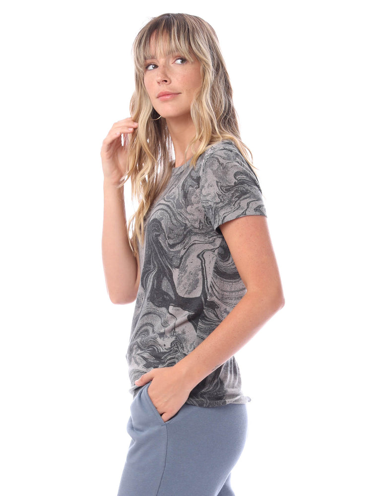 Ideal Printed Eco-Jersey Tee