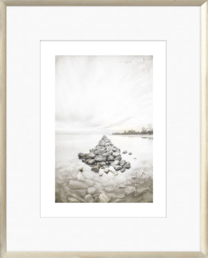 Stones in Water Wall Art