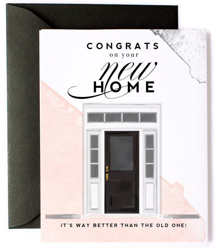 Congrats on Your New Home Greeting Card