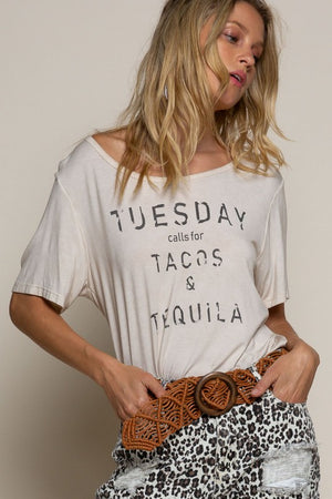 Load image into Gallery viewer, Taco Tuesday Print Top
