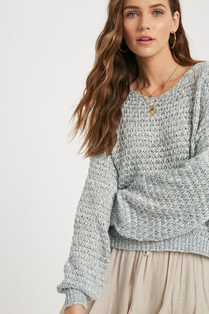 Load image into Gallery viewer, Textured Long Sleeve Sweater