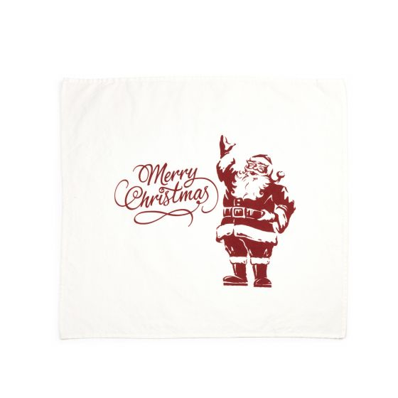 Tea Towel Merry Christmas Santa