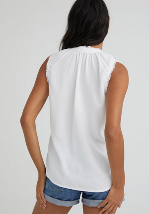 Frayed Edge Pullover Tank