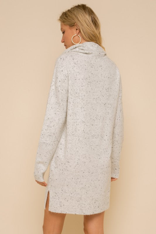 Speckled Sweater Dress