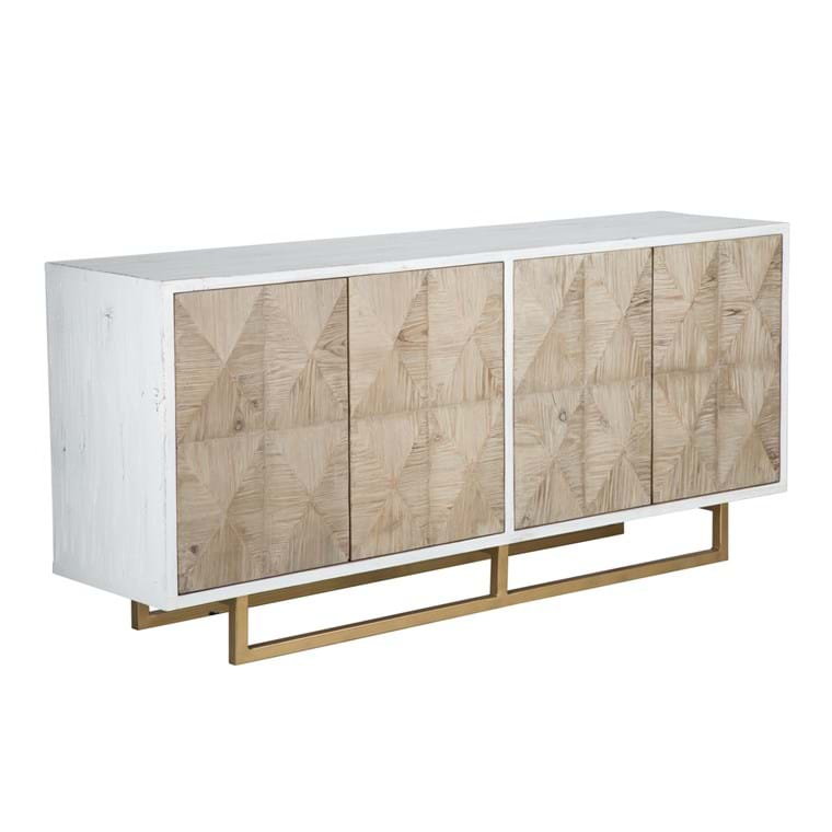 Amma Natural Fir Sideboard