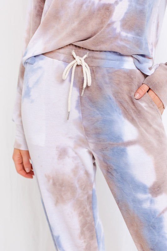 Load image into Gallery viewer, Tie Dye Print Drawstring Jogger