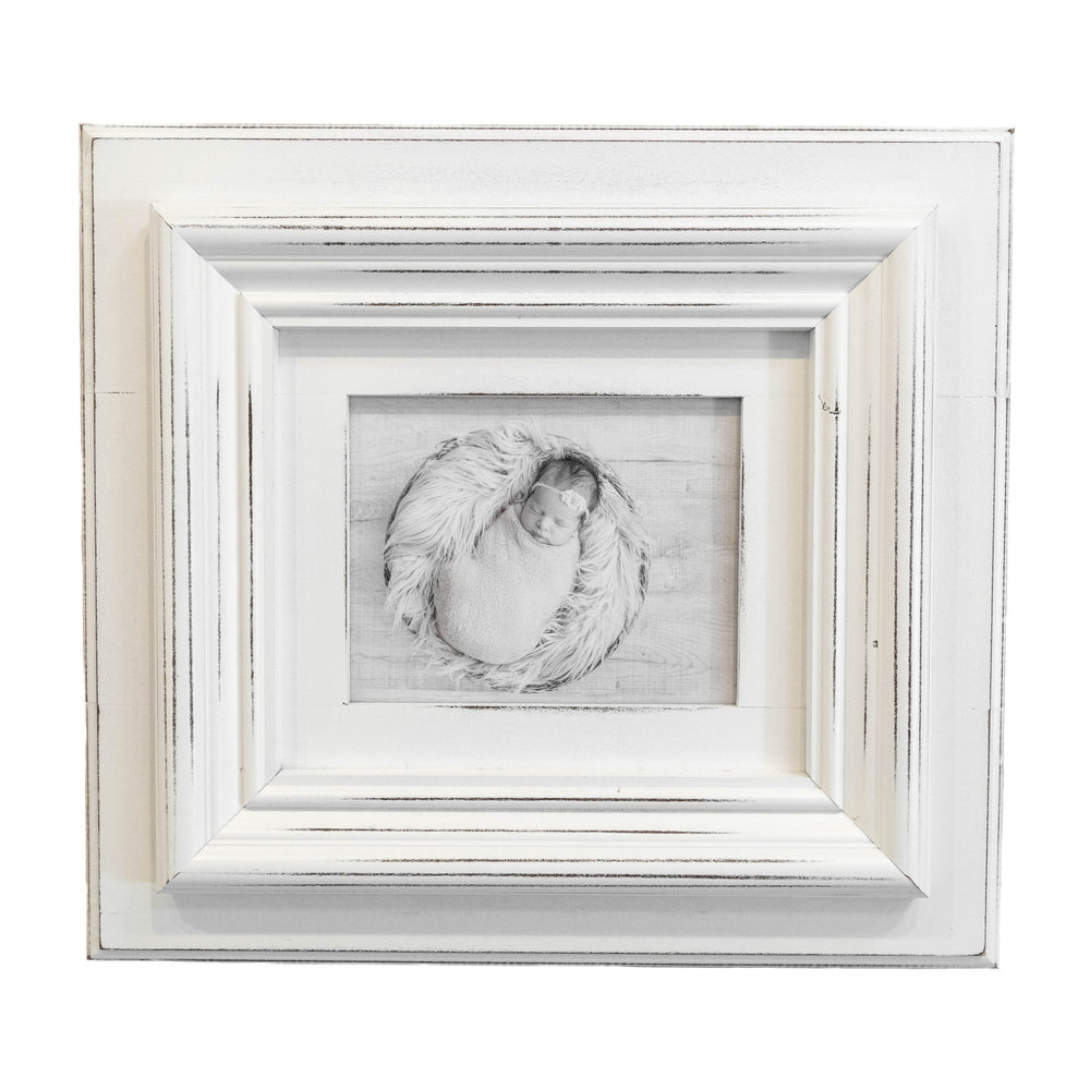 Chunky Frame in White | 8x10